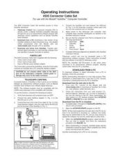 Buy Meade 505CableSet Instruction Manual by download Mauritron #194693