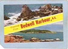 Buy CAN Bedwell Harbour Postcard Greetings From Bedwell Harbour B C can_box1~9