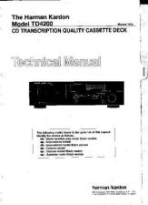 Buy INFINITY TD4200 SM Service Manual by download #147879