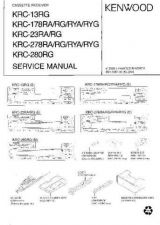 Buy KENWOOD KRC-852D L Technical Info by download #151965