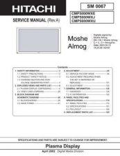 Buy Hitachi CMP5000WXE Manual by download Mauritron #185984