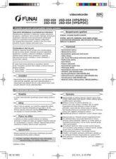 Buy Funai 25D-450HC3C3ED(CZ) Manual by download #160972