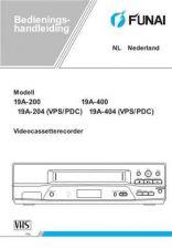 Buy Funai 19A-200 204 400 404(NL) Manual by download #160827
