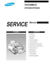 Buy Samsung SF 6500I XEG40045101 Manual by download #165513