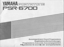Buy Yamaha PSR6700E3_1 Operating Guide by download Mauritron #204172
