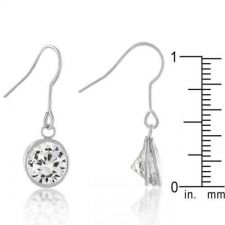 Buy Bezel Solitaire Stud Earrings