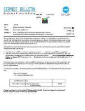 Buy Minolta T0188 Service Schematics by download #136791