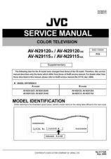 Buy JVC AV-N29115 TECHNICAL DATA by download #130599