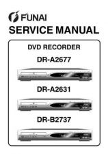 Buy Funai FUNAI DR-A2677 A2631 B2737 (E68C4 C7ED C5BD) SERVICE MANUAL Manual by down