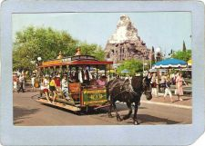 Buy CA Anaheim Amusement Park Postcard Disneyland Horse Drawn Streetcar top_bo~250