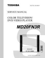 Buy TOSHIBA MD20FN3R SVCMAN ON by download #129501