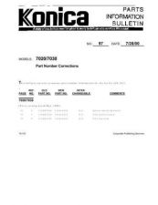 Buy Konica 97 Service Schematics by download #136340