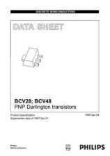 Buy SEMICONDUCTOR DATA BCV28 48 4J Manual by download Mauritron #187206