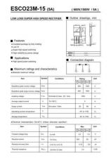 Buy SEMICONDUCTOR DATA C023M-15J Manual by download Mauritron #187389