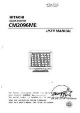 Buy Sanyo CM2073A EN Manual by download #173456