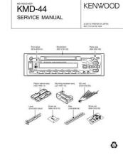 Buy KENWOOD KMD-44 Service Manual by download #148191