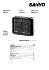Buy Sanyo CBP2576 Manual by download #171353