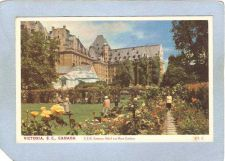Buy CAN Victoria Postcard C P R Empress Hotel & Rose Gardens can_box1~250