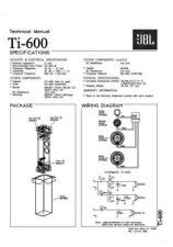 Buy INFINITY TI 600 TS Service Manual by download #151607