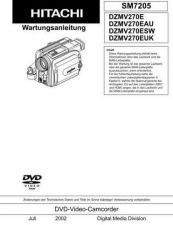 Buy Hitachi HITACHI DZ MV270 Manual by download #170940