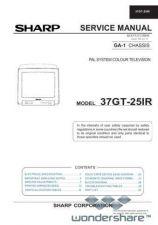 Buy Sharp 37GT25IR SM GB Manual.pdf_page_1 by download #178409