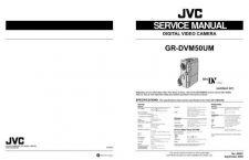Buy JVC GR-DVM50U TECHNICAL DATA by download #130861