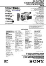 Buy SONY CCD-TR315E Service Manual by download #166378
