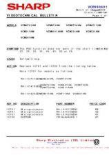 Buy Sharp VCMH73HM-017 Service Schematics by download #159271