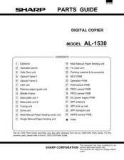 Buy Sharp AL1530 PG GB(1) Manual by download #179068