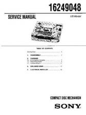 Buy SONY 16249048 Service Manual by download #166189
