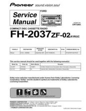 Buy PIONEER C3283 Service Data by download #149200