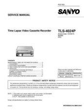 Buy Sanyo TLS-4024P Manual by download #177269
