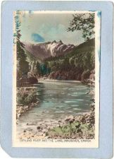 Buy CAN Vancouver Postcard Capilano River & The Lions Photo Type Card can_box1~168