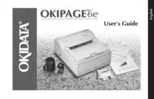 Buy OKIDATA OKIPAGE 6E USER'S GUIDE by download #148605