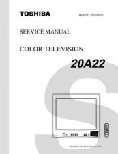 Buy TOSHIBA 20A22 SVCMAN ON by download #129112