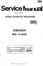 Buy ORION VH-940RC VH-942RC Service Manual by download Mauritron #193526