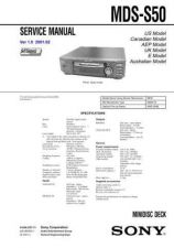 Buy SONY MDS-S50 CDC-1409 by download #159584