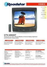 Buy ROADSTAR CTV-2002XT by download #128011