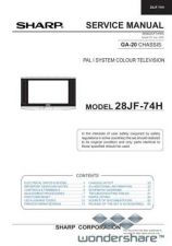 Buy Sharp 28JF74H SM GB Manual.pdf_page_1 by download #178082