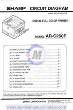 Buy Sharp ARCS3-DE7-DE8 PG GB Manual by download #179535
