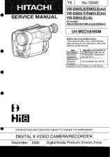 Buy Hitachi VM-D865LE NO 7004E Manual by download Mauritron #184650