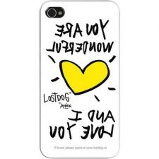Buy Lostdog Iphone 4 And 4s Slim Protective Case (white)