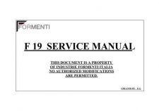 Buy SELECO FORMENTI-F19-MAN TECH INFO Service Data by download #133841
