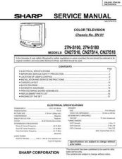 Buy Sharp 27F630 31 Manual by download #169855