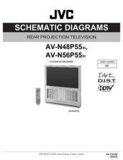 Buy JVC AV-N56P55 Schem Service Schematics by download #155451