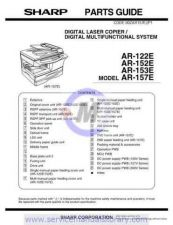 Buy Sharp AR150-155-F151 PG GB Manual by download #179344