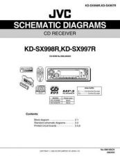 Buy JVC KD-SX998R SCH TECHNICAL DATA by download #131264