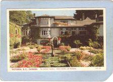 Buy CAN Victoria Postcard Butchart's Gardens Italian Gardens & Residence can_b~249