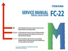 Buy Toshiba FC-22SM Service Manual by download #139291