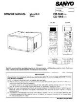 Buy Sanyo Service Manual For CB1443 SM-Only Manual by download #175551